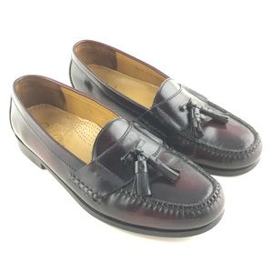 Cole Haan Pinch Tassel Loafer Leather Shoes